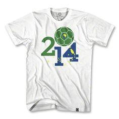 Brasil 2014 World Cup Soccer T-Shirt
