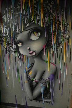 Graffiti art , street art , Urban art art Life style by urbanNYCdesigns Murals Street Art, 3d Street Art, Graffiti Art, African American Art, African Art, Photographie Street Art, 3d Art, Urbane Kunst, Action Painting