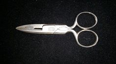 VINTAGE FA KOCH  CO BUTTONHOLE SCISSORS 4 DATED 07011884 Free Shipping