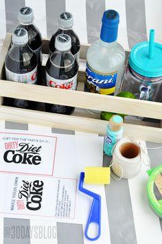dirty diet coke supplies!