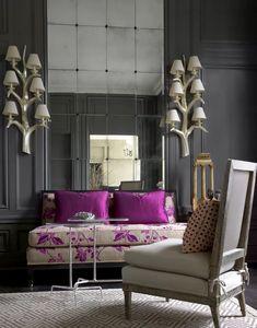 Classic Interior, Contemporary Interior, Home Decor Inspiration, Inspiration Design, Decoration, Living Room Decor, Upholstery, Interior Decorating, House Design