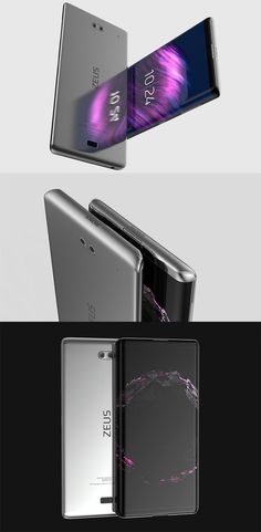 The 'Sony Zeus' concept phone really showcases the Curved touchscreen in all its glory making it look like some sort of magic, it also has a dual camera at the back... READ MORE at Yanko Design !