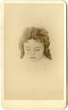 Post mortem cabinet card