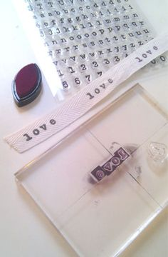 handmade with stamps  by Holamama