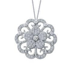 $305 floral pendant