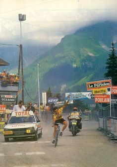 "justcyclingshit: ""1981 Tour de France, Stage 18. Bernard Hinault """