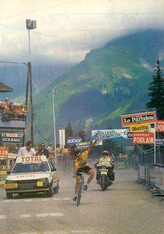 1981 Tour de France, stage 18: Hinault wins the hilltop finish at Le Pleynet.