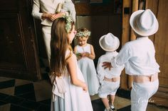 This Romantic French Farm Wedding from Coralie Photography features a  Cymbeline dress and a floral crown from Madame Artisan Fleuriste. b863b96b713