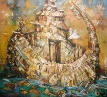 Art print - giclee print of painting Noev an ark by Martynchuk Vasily