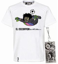 Tshirt El escorpion - Blanco