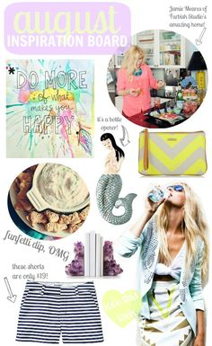 august inspiration board!