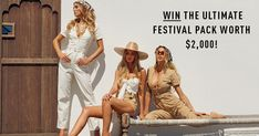 Help me win this epic $2000 Coachella festival prize pack from Tiger Mist and maybe I'll share it with you ;)