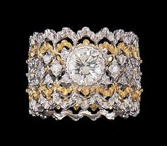 Buccellati Diamond Ring - Eternal Jewelry ~ Big Fun - The Fun Blog