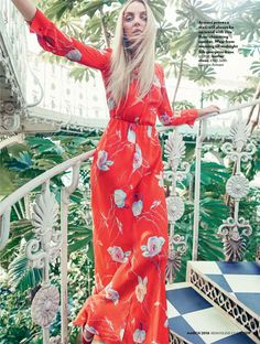 Heather Marks stars in Red Magazine's March issue