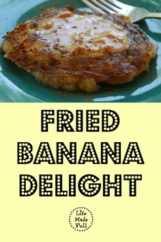 Who needs sugar-laden desserts when you can have this amazing Fried Banana Delight?! Egg-free, dairy-free, grain-free and sugar-free!