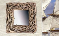 .: WOODHOUSE eShop :. Proposals, Nautical Theme, Grapevine Wreath, Hand Painted, France, Interiors, Collections, Decoration, Painting