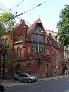 Lviv - Jan Styka House.jpg