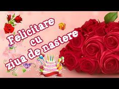 LA MULTI ANI - Felicitare cu ziua de naștere - YouTube Happy Birthday, Birthday Cake, Anul Nou, Motto, Cami, Youtube, Bible, Nostalgia, Happy Brithday