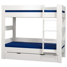 KIDS World Underbed Drawer In White - The KIDS World White Underbed Drawer will make a great value addition to your childs bedroom. Constructed from sturdy good qiuality MDF with a striking white painted finish.