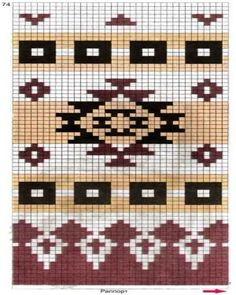 Ideas crochet patterns tapestry for 2019 Mochila Crochet, Bag Crochet, Crochet Purses, Crochet Chart, Filet Crochet, Tapestry Crochet Patterns, Bead Loom Patterns, Beading Patterns, Motif Navajo