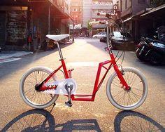 Vélo, trottinette et pliable !