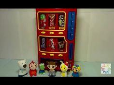 [HD] 뽀로로 콩순이 코코몽 초콜렛 자판기 장난감 애니 with Pororo m&m s vending machine 宝露露,Po...