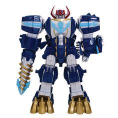 Mighty morphin power rangers legacy dino megazord action - Robot power rangers megaforce ...