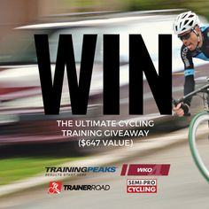 Win the Ultimate Cycling Training Package ($647 value)