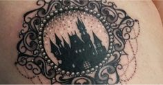 25 Castle Tattoos We Want to Straight Up Live In https://link.crwd.fr/2Viq
