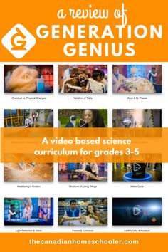 Designed for students in the Grade 3 to Generation Genius combines science videos with experiments along with some guided discussion and exploration. School Hacks, School Tips, School Ideas, Generation G, Science Programs, Science Videos, Physical Change, Science Curriculum, Elementary Science