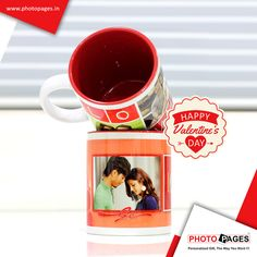 http://ow.ly/XtSbE Give Her A Hug, By Having Her On Your Mug! #valentinesday #personalised #PhotoPages