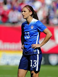 Alex Morgan vs. New Zealand, April 4, 2015, at Busch Stadium in St. Louis. (Jeff Curry/USA Today Sports)