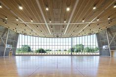 Monconseil Sports Hall / Explorations Architecture (12)