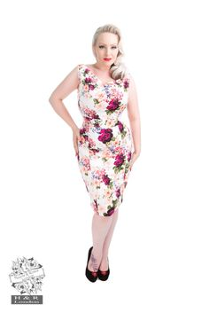 1a231096c27e99 Details about RKH29 Hearts and Roses H&R Rockabilly Vintage Party Dress  Swing 50s Retro Plus