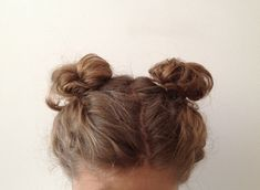 Pigtail Buns for Pajama Jam Hair Inspo, Hair Inspiration, Inspo Cheveux, Pigtail Buns, Hair Day, Gorgeous Hair, Hair Looks, Pretty Hairstyles, Her Hair