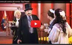 Commedia DURO D'ORECCHI SCENA PIÙ COMICA DEL MONDO GIGI PROIETTI