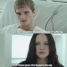 """1,787 Likes, 13 Comments - The Hunger Games (@ourgirlonfire) on Instagram: """"- 10 DAYS UNTIL CHRISTMAS  Well doesn't this scene just stab your everlark heart Q: What's your…"""""""