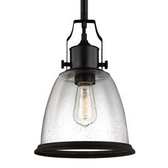 Feiss Hobson 1 - Light Pendant P1355ORB