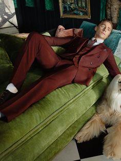 Tom Hiddleston. #Gucci Via Torrilla.