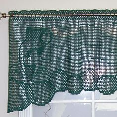 7 Beautiful Patterns for #Crochet Curtains @becraftsy