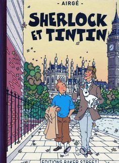Tintin - Divers- Sherlock et Tintin