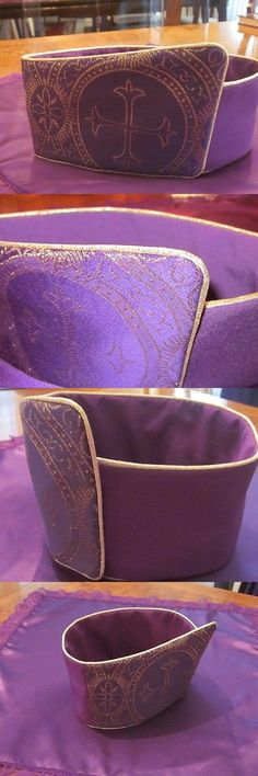 Handkerchiefs 167906: Regal Hats Purple And Gold (Available In Other Colors) -> BUY IT NOW ONLY: $65 on eBay!