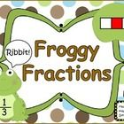 Froggy Fantastic Fraction Fun!!!  This set of cards is going to WOW your students!  They are so cute in the boxes or you can cut out close to the l...