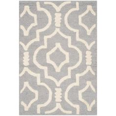 Safavieh Cambridge Silver/Ivory 2 ft. x 3 ft. Area Rug-CAM141D-2 - The Home Depot