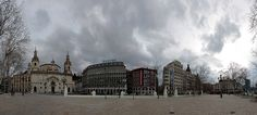 Fototapete Plaza del Arenal in Bilbao (Nr. 15216) www.berlintapete.de