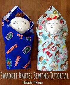 Swaddle Babies Sewing Tutorial - FREE PATTERN