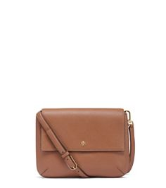 Tiger's Eye Tory Burch Robinson Messenger