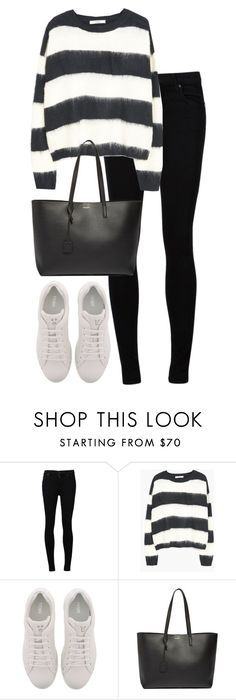 """""""Untitled #2977"""" by elenaday on Polyvore featuring Citizens of Humanity, Fendi and Yves Saint Laurent"""