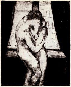Edvard Munch - The Kiss