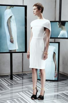 Balenciaga Resort 2014 Collection Slideshow on Style.com